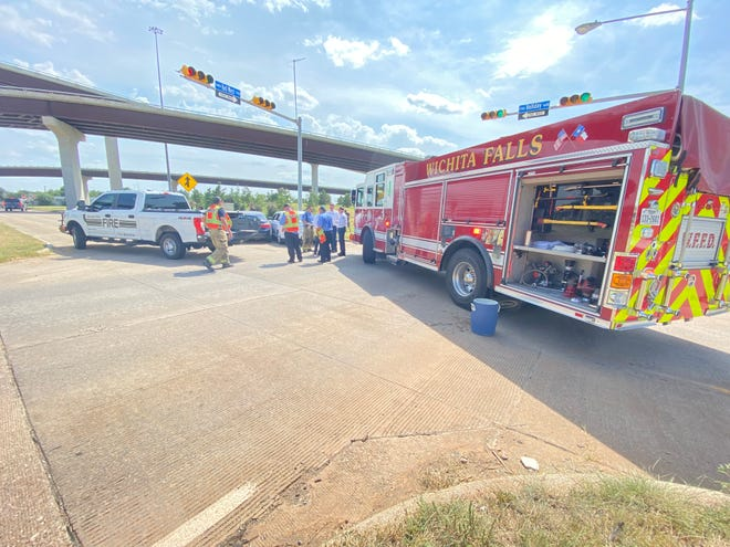 City vehicle involved in accident