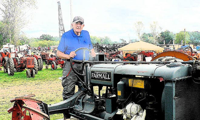 I always stood while plowing with the F20 Farmall. The Stoughton Stone hitch brought the tractor to an instant stop which, if seated, could mean a mouthful of steel steering wheel.