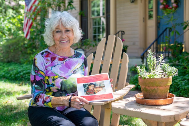 """Artist and author Mary Ann Bucci has released her book, """"Losing Your Best Friend,"""" that details what it was like surviving loss from the perspective of her daughter Ronna's dog when she died 23 years ago."""