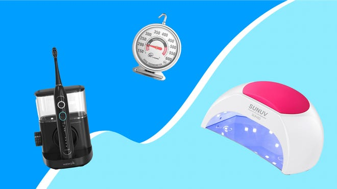 Save on a dental health two-in-one, our favorite oven thermometer and a UV lamp that will revolutionize your at-home manis and pedis.