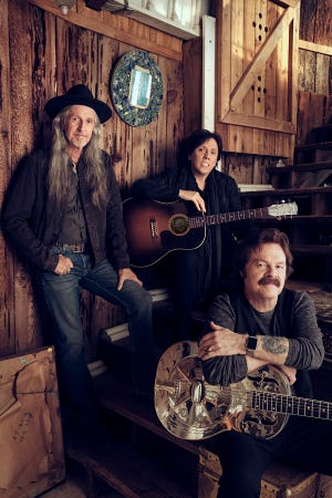 The Doobie Brothers, featuring Patrick Simmons, John McFee and Tom Johnston, are celebrating the 50th anniversary of the group.