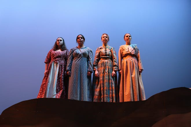 """""""You on the Moors Now"""" by Jaclyn Backhaus will be staged at 7:30 p.m. Sept. 17-18 and 24-25 and 2:30 p.m. Sept. 19 and 26 in the Branding Iron Theatre inside the Sybil B. Harrington Fine Arts Complex on the Canyon campus."""