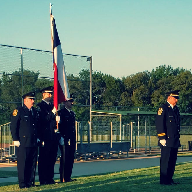 Anna Firefighters honor the victims of the Sept. 11 attacks during a 2019 memorial service