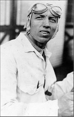 "1921: Race car driver William ""Wild Bill"" Albertson, of Penn Yan, was injured in a Philadelphia race crash."