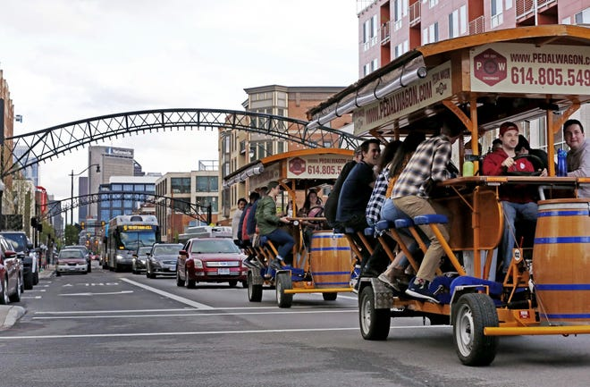 Pedal Wagons in the Short North