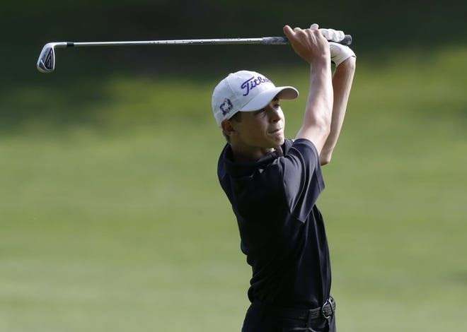 DeSales sophomore Vaughn Harber credits a smoother swing with helping him save strokes on the course. He also hopes it helps him qualify for the state tournament for the first time.