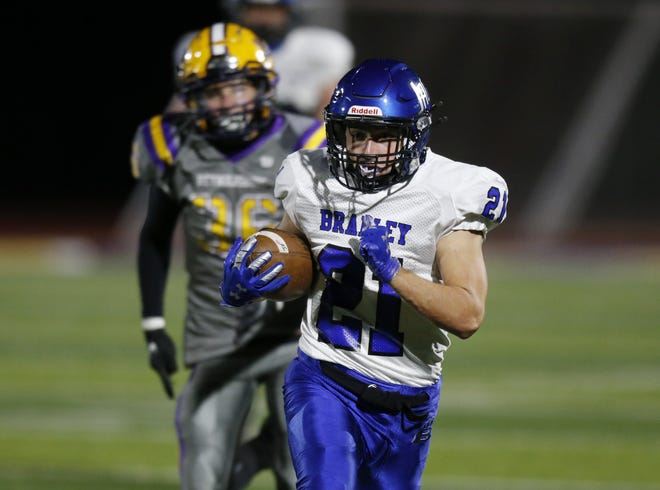 Trevor Schuler has rushed for 285 yards and four touchdowns on 47 carries for Hilliard Bradley, which is 2-1 entering its game Sept. 10 against Marysville.