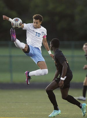 """Senior Wassim Metatla has been leading Darby's strong start, along with classmate Gio Roberts. """"They're both smart players and can read the game,"""" coach Kyle Riechle said. """"They have superior field vision and can see things on the field that from the sideline, we don't necessarily see."""""""
