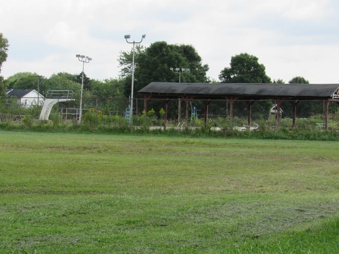 A developer wants to convert the former Northland Community Center pool site at 6000 Beechcroft Road into a 48-unit apartment complex.