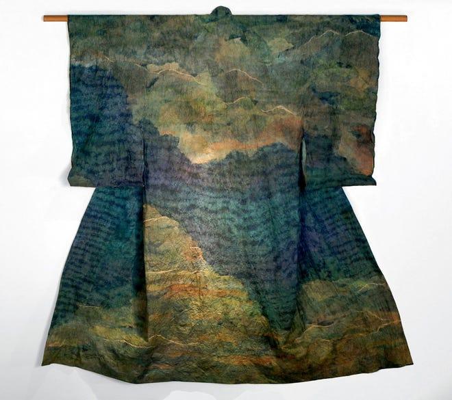 """""""Kimono as Art"""" by Julie McLaughlin"""