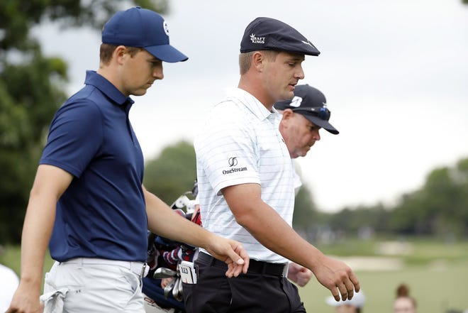 Jordan Spieth, left, and Bryson DeChambeau will bring some passion to the U.S. Ryder Cup team.
