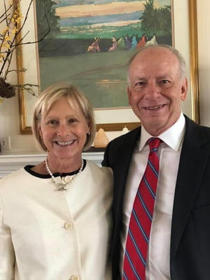 Walt and Tricia Rouse will be recognized at a reception as United Way of Davidson County 2021 benefactors.