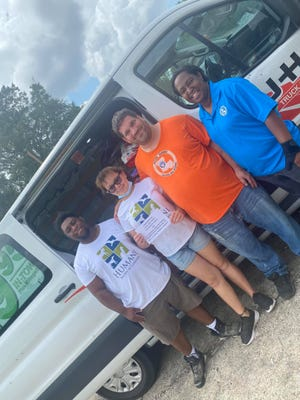 Local groups have partnered to address the needs of animals in the aftermath of Hurricane Ida. Groups include: Rescue Alliance, the Humane Society of Louisiana, Justin Reid of the Houston Texans, the Louisiana Home and Foreign Mission Baptist Convention, Rev. S.C. Dixon, Sandra Baptiste, and True Light Baptist Church.