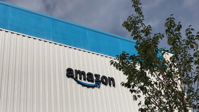 The Amazon delivery station located on Trade Drive in Grand Rapids.