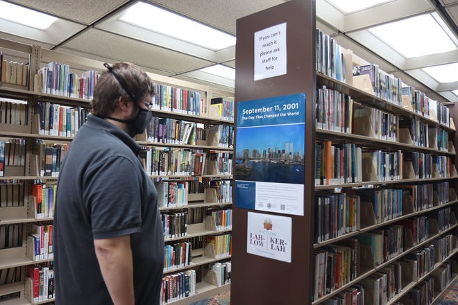 Now through mid-October, Newton Public Library is hosting an educational exhibition created by the National 9/11 Memorial & Museum.