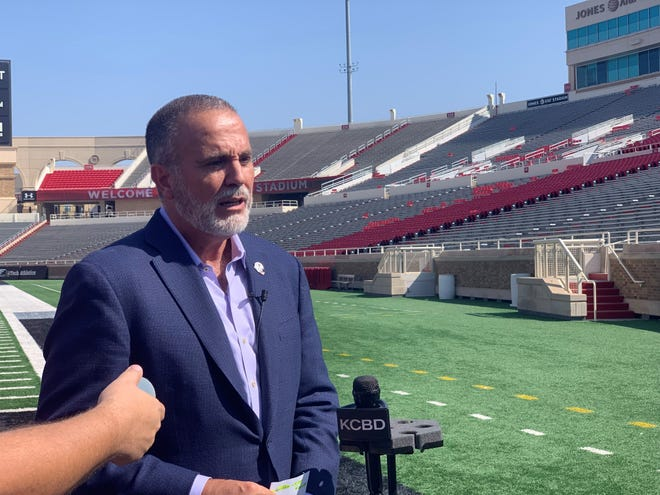 Texas Tech senior associate athletics director Robert Giovannetti discussed regarding new gameday features around Jones AT&T Stadium this season during a press conference held on Wednesday.