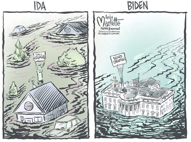 Today's editorial cartoon (Sept. 9, 2021)