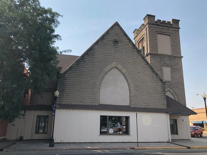 Desired uses for the old First Presbyterian Church building on West Third Street and Santa Fe Avenue were almost evenly divided among respondents to a survey conducted by Progressive Urban Management Associates.