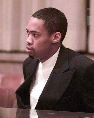 Julius Jones, shown at his 2002 sentencing