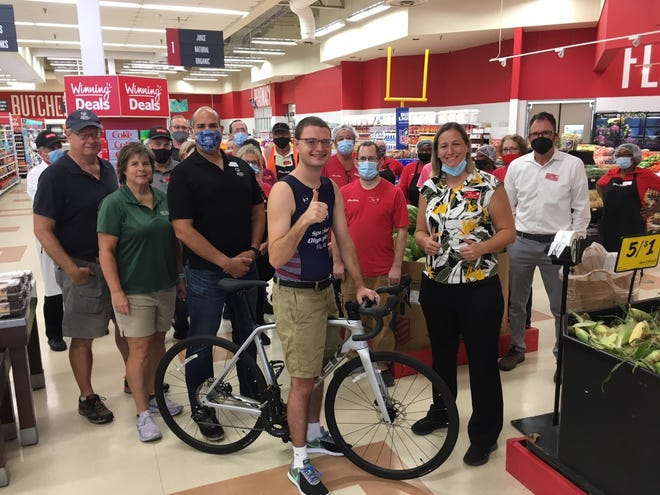 Thomas Welsh III will ride a new Trek Emonda performance road race bicycleat the Special Olympics 2022 USA Games thanks to friends and co-workers at Winn-Dixie. He works in the deli department of Winn-Dixie's location in the Ocala Spring Shopping Center off U.S. 441 North.