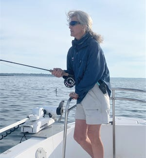 Susan Estabrook is coordinating a Women's Introductory Fly Fishing Clinic on Oct. 2 in South Kingstown.