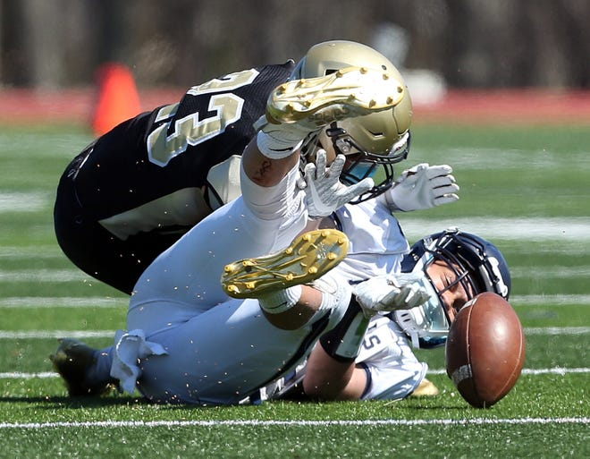 North Kingstown vs South Kingstown in a game last spring.