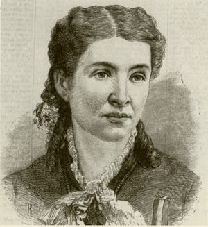 """""""Emma Molloy: In Her Own Words"""" continues through Oct. 30 at the Elkhart County Historical Museum in Bristol. The exhibit traces the life and works of Emma Molloy, who became the first female editor of a newspaper in northern Indiana when the Elkhart Observer started publishing in 1872."""