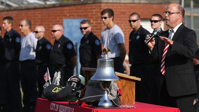 Cherryville will host a memorial service on Friday to mark the 20 year anniversary of the September 11 attacks.