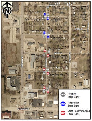 After a petition was signed by 13 households, three additional stop signs are going to be placed along Park Street to slow traffic.