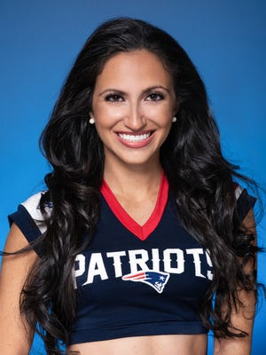 Worcester's Brianna Munoz is gearing up for her second stint as a New England Patriots cheerleader.