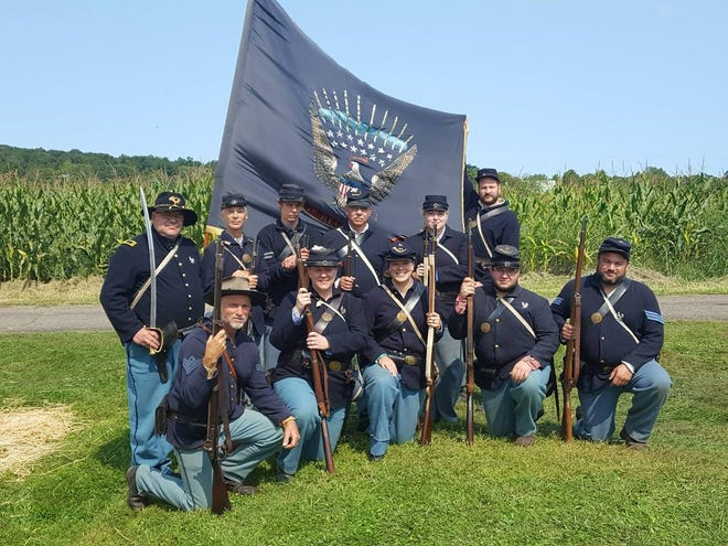 A group of Union soldiers.