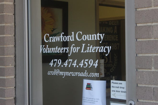 The Crawford County Volunteers For Literacy received a $1,100 grant to further their resources for teaching adults literary skills.