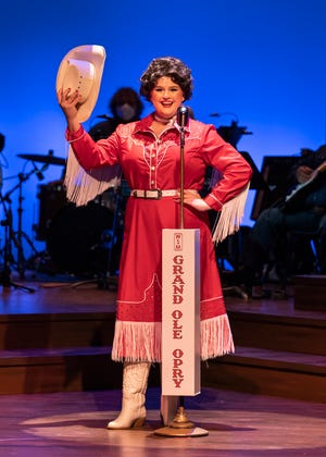 """Rosie Webber stars as the country superstar in """"Always...Patsy Cline."""""""