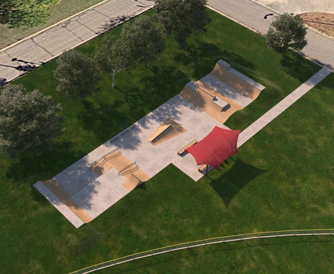 Augusta City Council approves skatepark design with some slight modification at Bill Reed Park