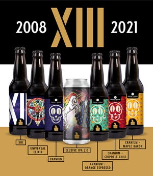 Listermann Brewing Company's special releases for its 13th anniversary.