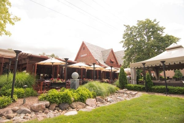 Big Rock Chophouse outdoor patio. The Birmingham restaurant will close at the end of the year.