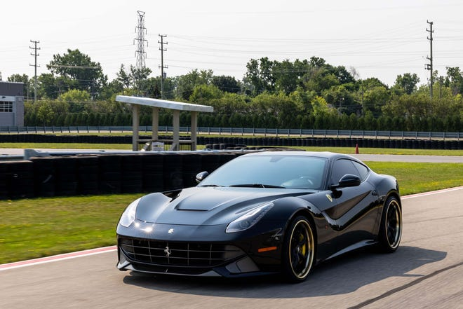 The 2021 Motor Bella will combine The Gallery exotic show - featuring supercars like this Ferrari - and production vehicles from 39 brands.