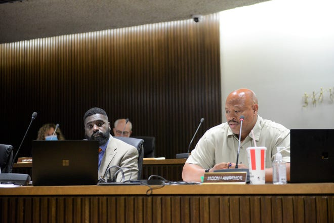Jason Lawrence, who represents the Fifth Ward, has repeatedly voiced his support for moving forward on designing a dry dam that would reduce the floodplain north of Fourth Street.