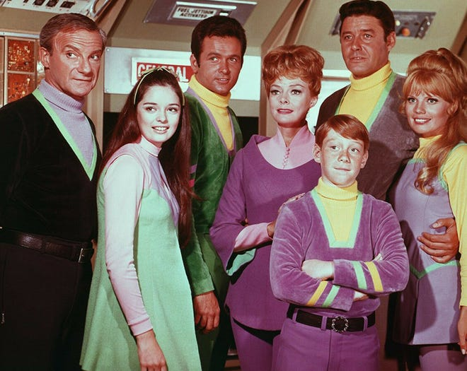 """""""Lost in Space"""" cast from Season 3."""