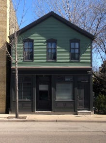 A building at 1916 N. King Drive is to be redeveloped as 1916 Black, a venue for business events and other gatherings.