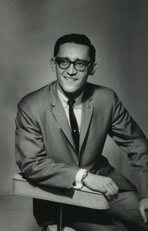 Bill Taylor is shown in a 1964 press photo. Taylor, aka William Chimka, died Aug. 28, 2021, at the age of 82.