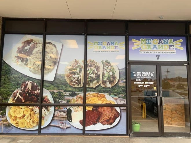 Mi Casa Grande is now open at 3426 Cypress St. in West Monroe. The restaurant serves up authentic Mexican and Honduran cuisine.