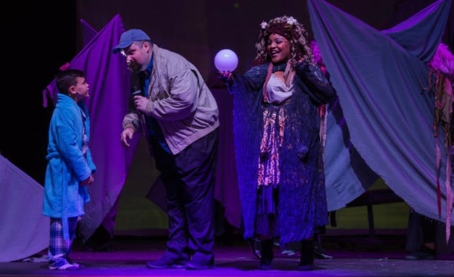 """Several cast members are returning from the Wetumpka Depot's previous production of """"Big Fish,"""" which has a new opening on Sept. 16."""