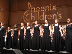 Phoenix Children's Chorus teach youth performance skills and vocal techiniques.