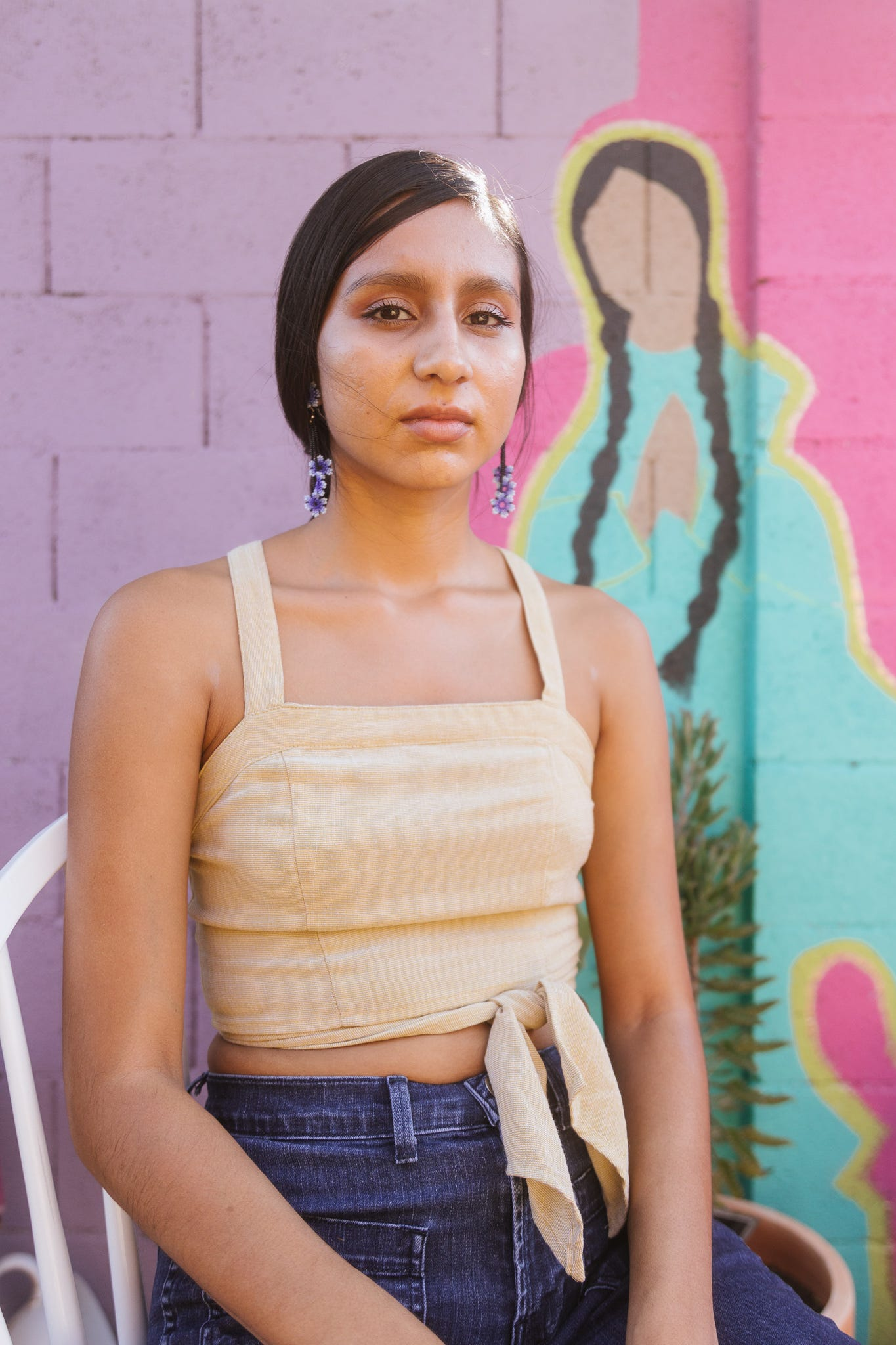 Selina Martinez is a Yoeme creative who seeks to educate others about her culture and identity by using her background in architecture and research to present information in new, more digestible ways.