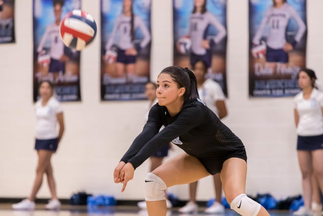 Chapin's Jackie Mendoza (3) during the game against Coronado High School, Sept. 7, 2021 at Chapin High School in El Paso.