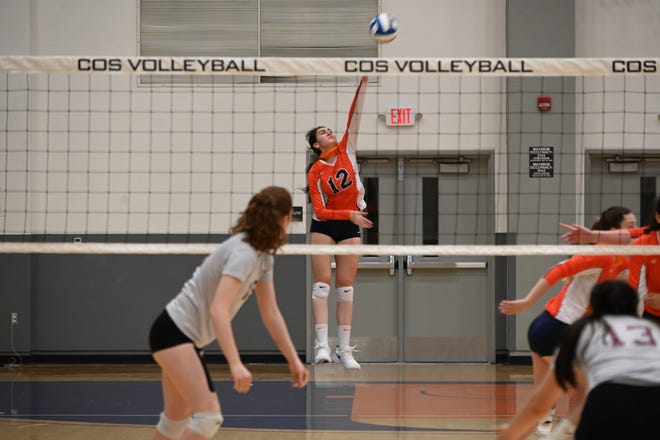 Hazel Martinez is one of the key returning players for the College of the Sequoias' volleyball team.
