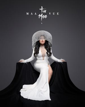 """Cover art from Maa Vue's latest album, """"Tu Moo."""" The title means """"Ending Ties"""" in English, and represents a turning point in Vue's performing career."""