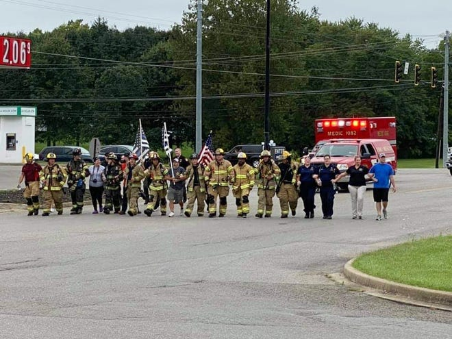 Newton Township Fire Department will host a 3.43 mile walk in honor of firefighters lost in the September 11, 2001 attacks.