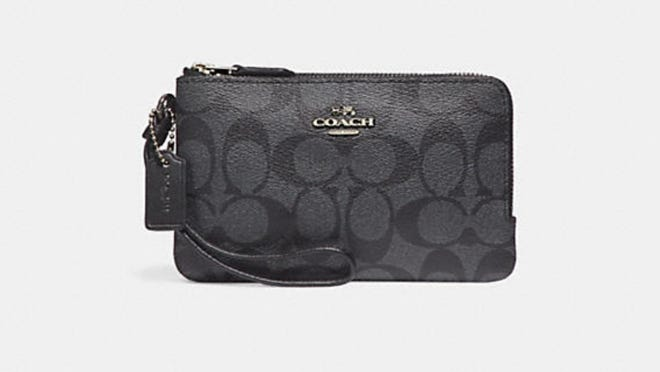 Coach wristlets are as low as $25 at Coach Outlet right now.
